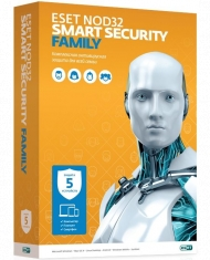 ESET NOD32 Smart Security Fami...