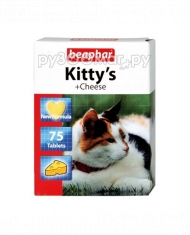 Beaphar Kitty's + Cheese (75 ш...