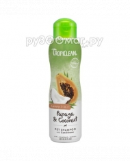 TropiClean Shampoo 2in1 Papaya...